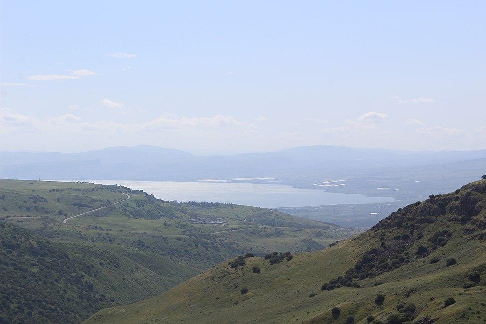 Sea of Galilee from Gamla