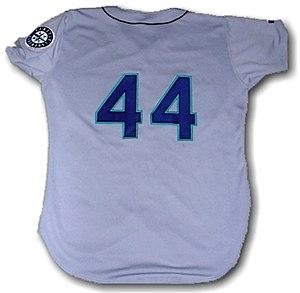 Paul Sorrento - Image: Seattle Mariners uniform 44