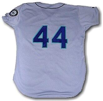 John Cummings (baseball) - Image: Seattle Mariners uniform 44