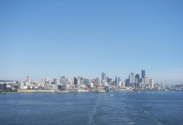 Seattle downtown from Elliott Bay 2.jpg