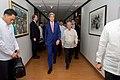 Secretary Kerry Walks Down a Hall With Foreign Secretary Yasay (28580948225).jpg