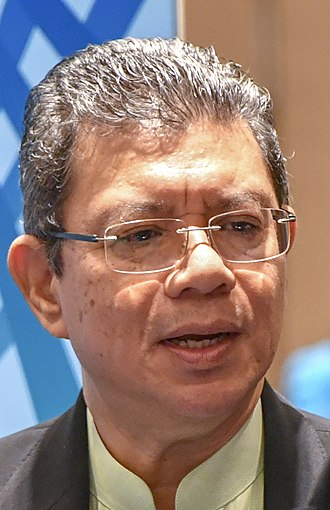 Minister of Foreign Affairs (Malaysia) - Image: Secretary Pompeo Meets with Malaysian FM Saifuddin Abdullah (42012332590) (cropped)