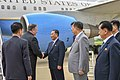 Secretary Pompeo is Greeted by Vice Chairman Kim Yong Cho (28435879217).jpg