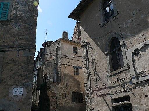 Seggiano, centro storico
