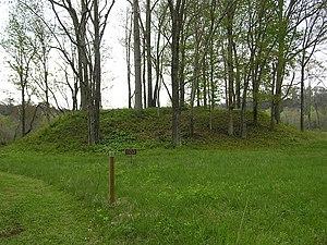Sellars Indian Mound - The main mound at the site