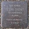 Stolperstein für Selma Drews