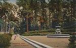 Sennsburg, Ostpreußen - Brunnen im Stadtwald (Zeno Ansichtskarten).jpg
