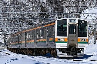 211 series Japanese train type