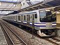 Series E217 Y-101 in Higashi-Zushi Station 02.jpg