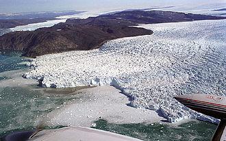 Geography of Greenland - Image: Sermeqkujadtlek