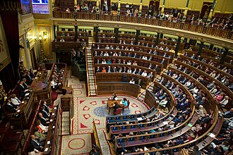 Congress of Deputies (Spain) - Plenary Hall