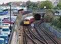 Shanklin bound service entering Ryde Tunnel (6240256893).jpg