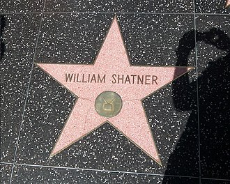 William Shatner - Shatner's star on the Hollywood Walk of Fame