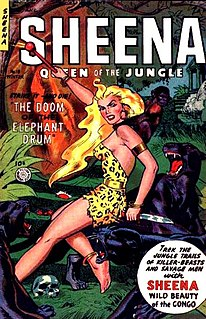Sheena, Queen of the Jungle fictional human