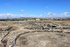 Shengavit Settlement - Image: Shengavit Settlement 1