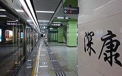 Shenkang station Platform 20130915.JPG