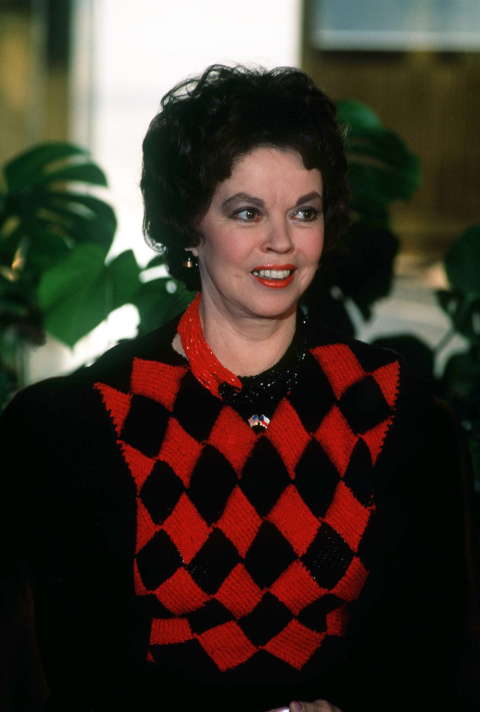 Shirley Temple in 1990