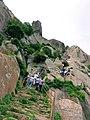 Shivagange hill,bangalore.jpg