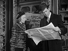 Margaret Sullavan and James Stewart in The Shop Around the Corner (1940).