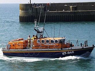 Shoreham Harbour Lifeboat Station - Image: Shoreham lifeboat 'Hermione Lady Colwyn' geograph.org.uk 356231