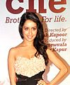 Shraddha Kapoor at the premiere of 'Kai Po che'.jpg