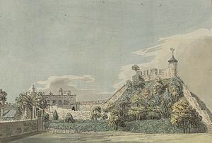 Shrewsbury Castle - Shrewsbury Castle, c.1778