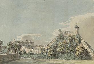 Shrewsbury Castle - Shrewsbury Castle, c.1778