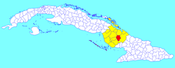 Sibanicú (Cuban municipal map).png