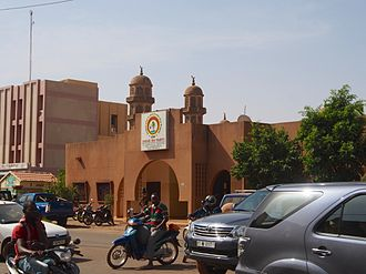Congress for Democracy and Progress - Headquarters of the party in Ouagadougou