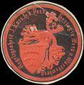 Siegelmarke Angelegenheit Ihrer Kaiserlichen Hoheit der Frau Herzogin Wera von Württemberg W0354332.jpg