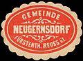 Siegelmarke Gemeinde Neugernsdorf - Fürstenthum Reuss äL. W0252442.jpg