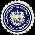 Siegelmarke Königlich Preussischer Landrat des Kreises Gronau i.-H. W0245927.jpg