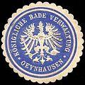 Siegelmarke K. Bade Verwaltung - Oeynhausen W0235077.jpg