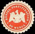 Siegelmarke K. Fortifikation zu Wesel W0285435.jpg