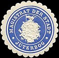 Siegelmarke Magistrat der Stadt - Jüterbog W0260026.jpg