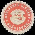 Siegelmarke Magistrat der Stadt Gröningen W0361629.jpg