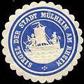 Siegelmarke Siegel der Stadt Mülheim am Rhein W0212602.jpg