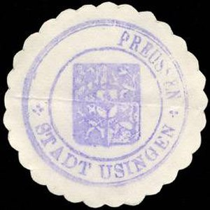 Usingen - Seal around 1900