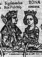 Sigismondo Iagellone e la moglie Bona Sforza.jpg