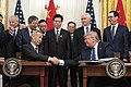 Signing Ceremony Phase One Trade Deal Between the U.S. & China (49391434906).jpg