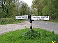 Signpost just south of Nyewood - geograph.org.uk - 787861.jpg