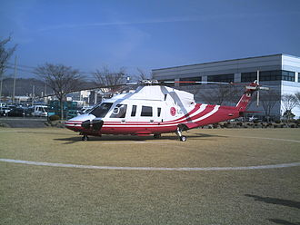 Sikorsky S-76 - S-76C owned by LG Electronics as a VIP transport