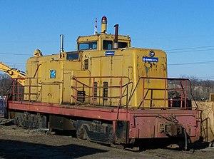 GE 80-ton switcher - Image: Sims Richmond VA 2007