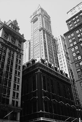 Singer Building in september 1967