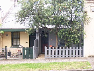 Marrickville Council - Image: Single Storey Terraces