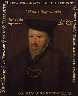 Thomas Gargrave 16th-century English politician