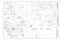 Site Plan - Yosemite Museum, 9037 Village Drive, Yosemite Village, Mariposa County, CA HABS CA-2809 (sheet 1 of 9).png