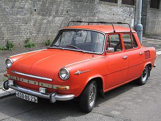 Škoda 1000 MB - Image: Skoda 1000MB front