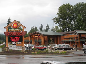 Lucky Dog casino entrance