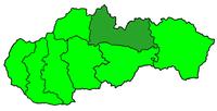 Poloha diecéze spišské na Slovensku